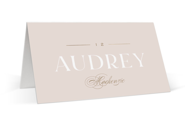 Lovely Day Foil-Pressed Place Cards