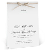 Charming Go Lightly Unique Wedding Programs