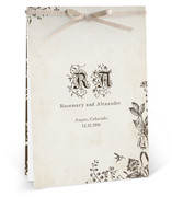 Story Book Unique Wedding Programs