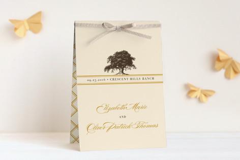 Oak Tree Unique Wedding Programs