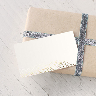 Majestic Foil-Pressed Gift Enclosure Cards