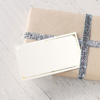 Fanciful Names Foil-Pressed Gift Enclosure Cards