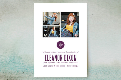 Simplicity Graduation Announcements