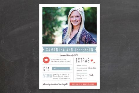 Grad Stats Graduation Announcements