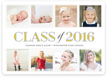 Through the Years Graduation Announcements