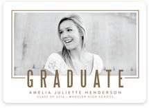 Statement Frame Graduation Announcements