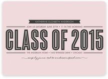 Stripe + Type Graduation Announcements