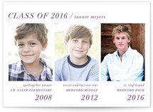 Modern Storyline Graduation Announcements