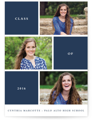 Photo Session Graduation Announcements