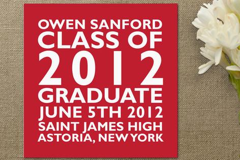Block Graduation Announcements