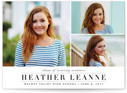 Northernly Graduation Announcements