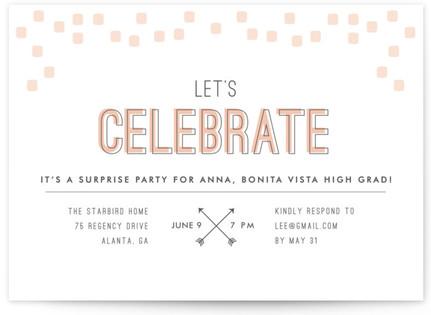 Arrowhead Pastels Graduation Announcements