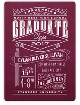 Past and Future Chalkboard Graduation Announcements