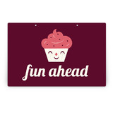 Sweet Cupcakes Party Greeting Signs