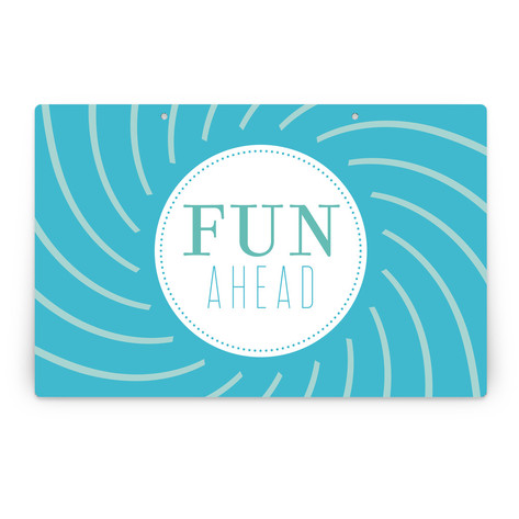 Pinwheel Personalizable Party Greeting Signs