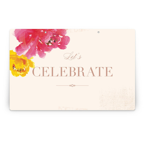 Guapa Personalizable Party Greeting Signs