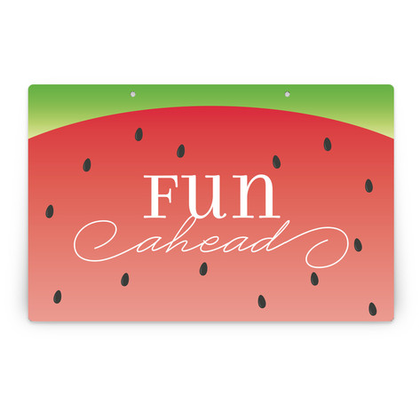 Watermelon Personalizable Party Greeting Signs