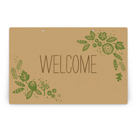 Rustic Harvest Personalizable Party Greeting Signs