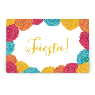 Fiesta! Personalizable Party Greeting Signs