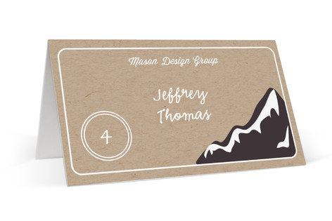 Mountain Place Cards