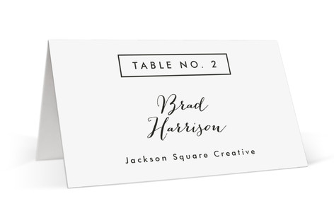 The Standard Place Cards