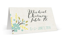 Botanical Blooms Place Cards