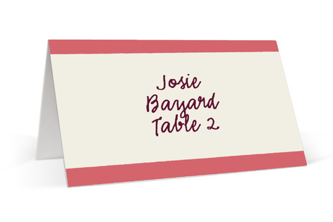 Sweet Cupcakes Place Cards