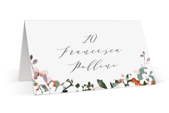 The Field Of Love Place Cards