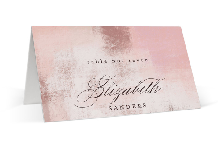 Soft Overlay Place Cards