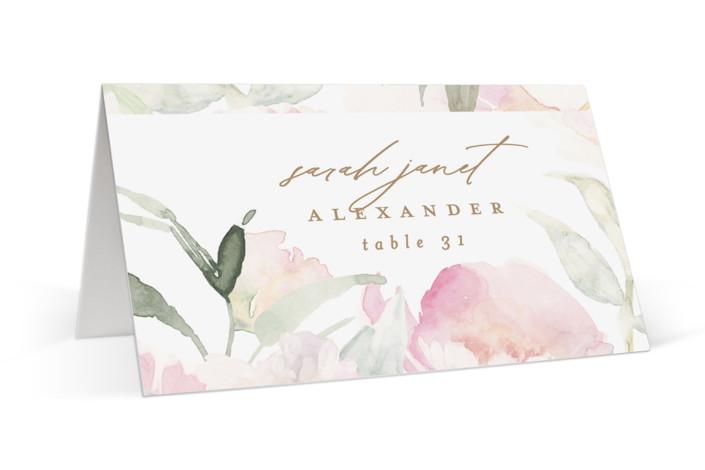 beautiful peonies Place Cards