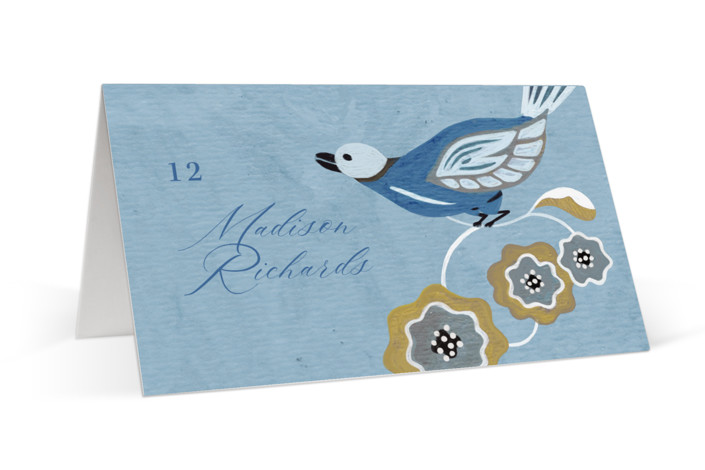 The Love Birds Place Cards