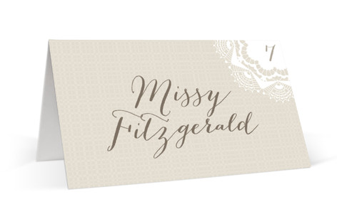 Grand Lace Place Cards