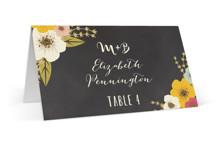 Plentiful Blossoms Wedding Place Cards
