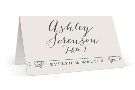 A Blessed Union Place Cards