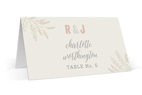 Rustic Charm Place Cards