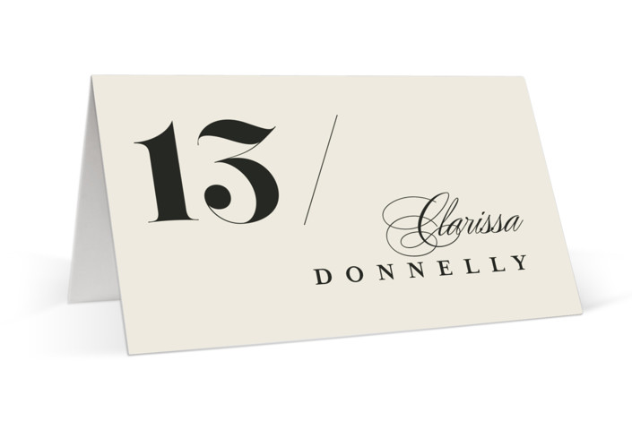 Big Date Place Cards