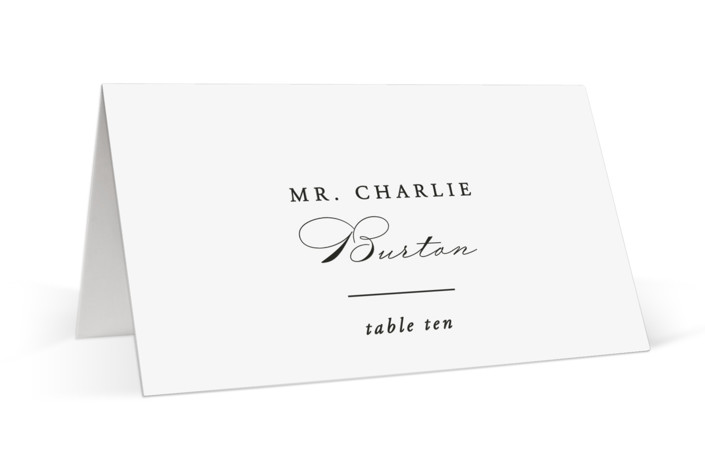 Together With You Place Cards