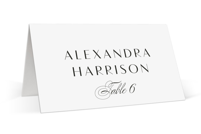 Plaza Place Cards
