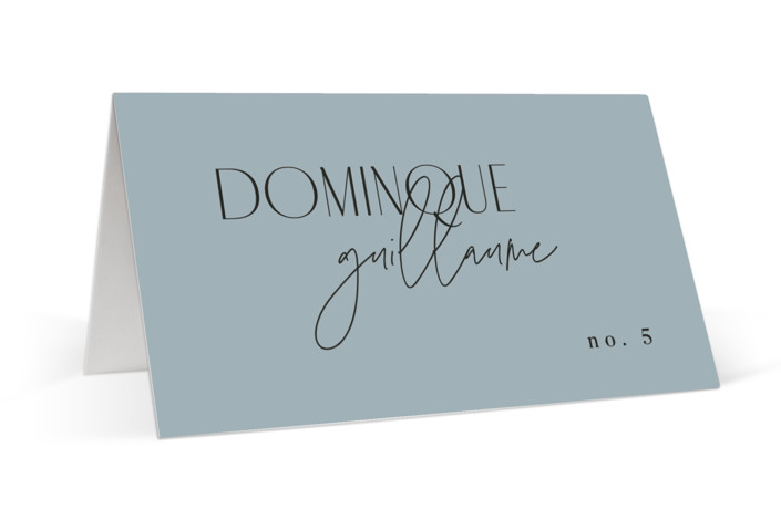 Layered Place Cards