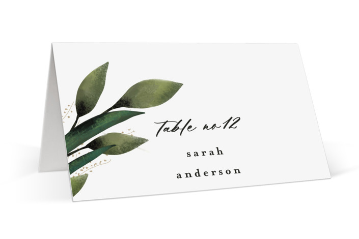 Forest Finds Place Cards
