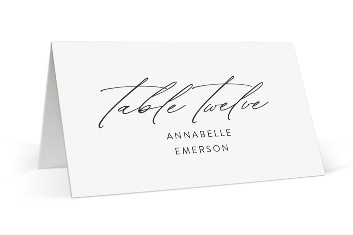 By Your Side Place Cards
