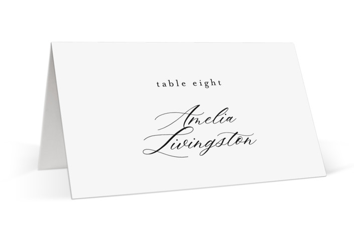 front and center Place Cards