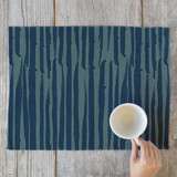 Brushed Lines Placemats