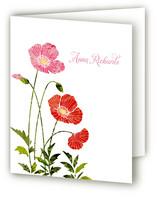 Textured Poppies
