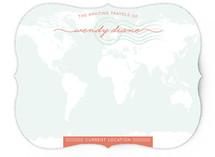 Amazing Travel Personalized Stationery