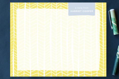 Pretty Patterns Personalized Stationery