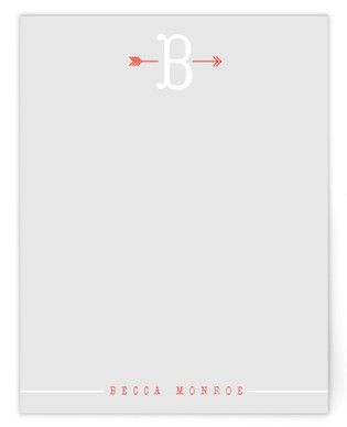 Arrowhead Personalized Stationery