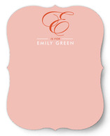 My First Monogram Personalized Stationery