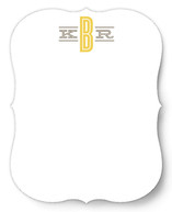 Classic Monogram Personalized Stationery