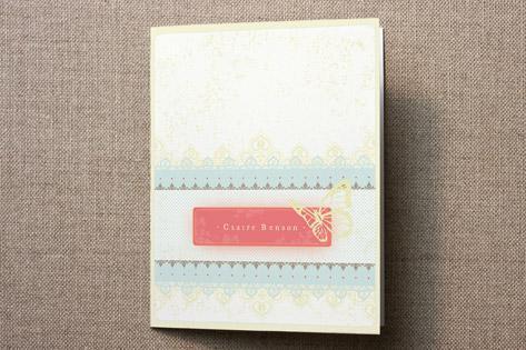 Handkerchief Personalized Stationery